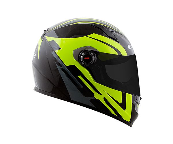 CÓPIA - CAPACETE LS2 FF358 TOURING BLK/GRY/FLO YELLOW