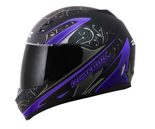 Capacete Norisk FF391 Friz Matte Black/Purple