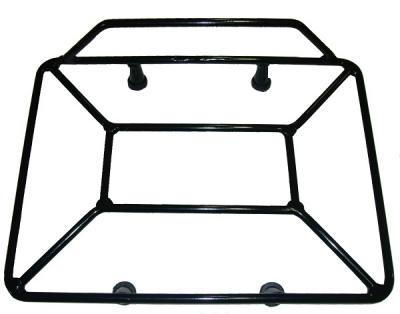 Grelha Universal Chapam Baú Quadrado Modelo Maciço Preto Fosco