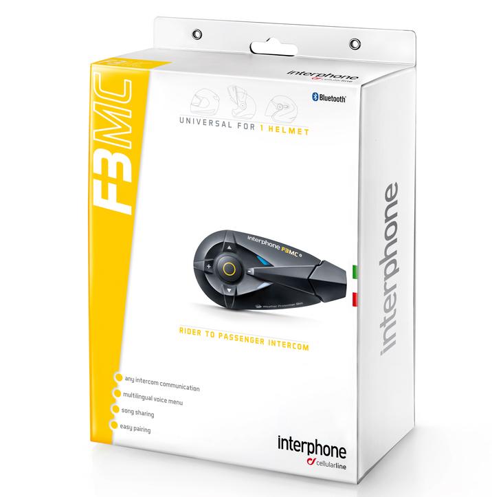 Intercomunicador INTERPHONE F3MC até 10 Metros (Unitário)