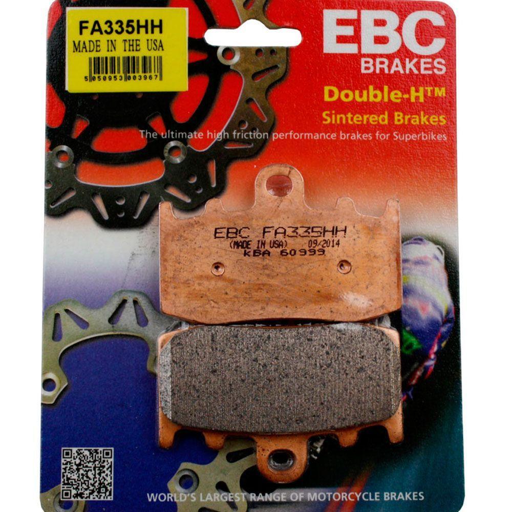 PASTILHA FREIO EBC FA335HH R1200 GS (ATÉ 2012) DIANTEIRA