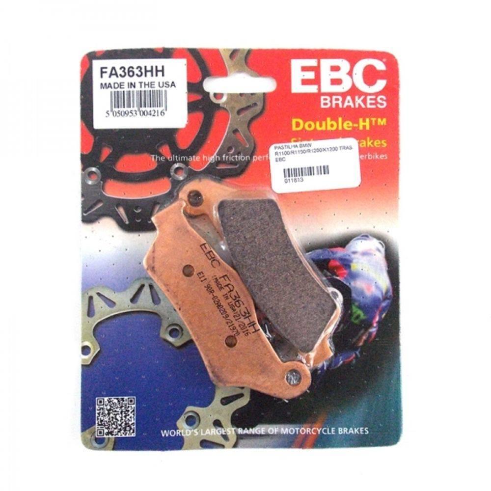 PASTILHA FREIO EBC FA363HH R1200 GS (ATÉ 2012) TRASEIRA