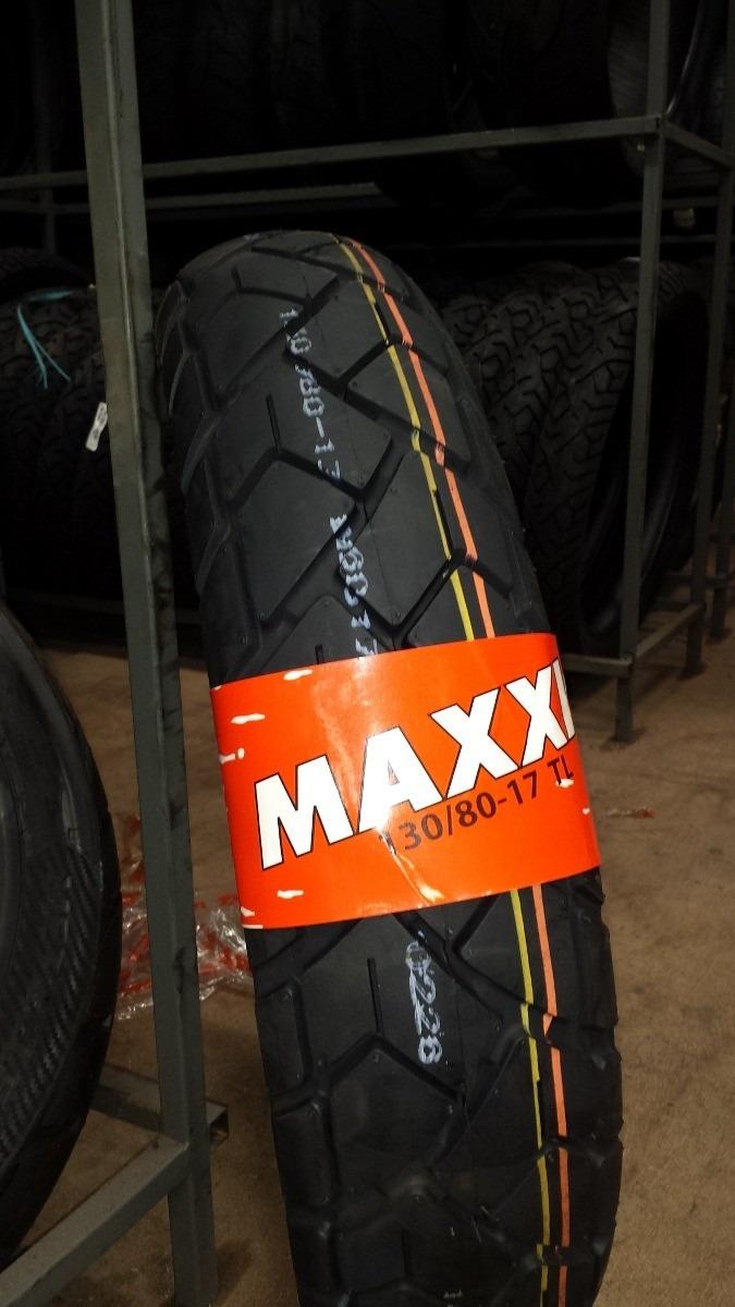 Pneu Maxxis Traxer Street M-6017 130/80-17 M/C 65H TL (TRASEIRO)