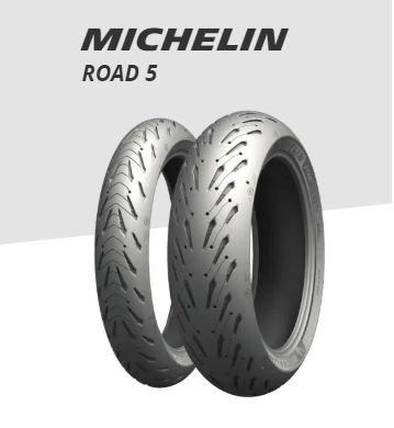 Pneu Michelin Road 5 Medida 120/70/17