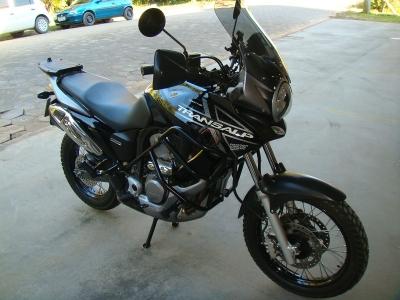 Protetor Chapam de Carenagem c/ pedaleira p/ Transalp 700 - 7844