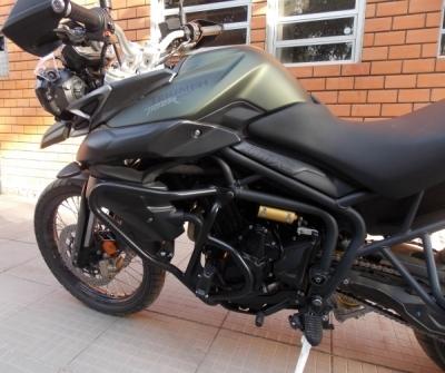 Protetor Chapam de Motor c/ pedaleira p/ Tiger 800 - 9548