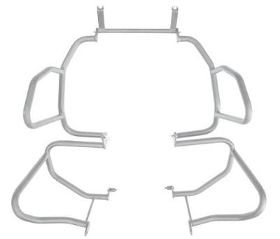 Protetor Chapam de motor e pedaleira p/ BMW R 1200GS 2013 a 2015 SPORT 9642 PRATA
