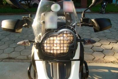 Protetor de Farol Grade Chapam p/ BMW G650 GS/SERTAO12 - 8099