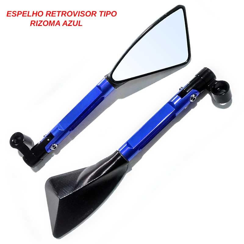 Retrovisor Esportivo Aolixin (Adaptável p/ várias motos)