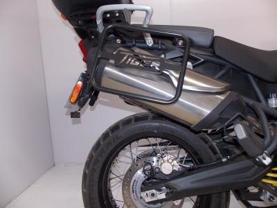 Suporte Afastador de Alforge Triumph Tiger 800 XC/XR/XCX/XRX Preto Fosco 857