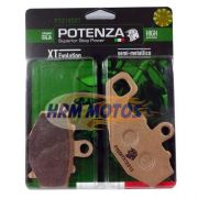 Pastilha Freio Er-6n/versys 650/Ninja 650/Z1000/ZX-10R Traseira Potenza PTZ192XT