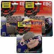 Jg Pastilha Freio EBC Kawasaki Z1000 Sinterizada  (kit para os 3 discos)