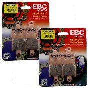 Jg Pastilha Freio Dianteiro EBC Zx-6r 2008-2012 (p/2discos)