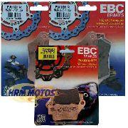 Jg Pastilha Freio Ebc Tenere 660 Completo (kit para os 3 discos)