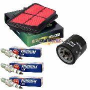 Kit Filtro Ar Tiger 800 Hiflofiltro+ Filtro de óleo FRAM +3 Velas Iridium