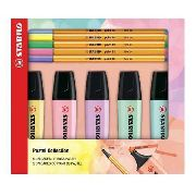 Kit Stabilo Pastel Collection 5 Boss + 5 Point 88