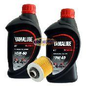 Kit 2 lts Yamalube 10w40 + Filtro Óleo Vedamotors Dafra Next 250