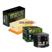 Filtro Ar Bmw F800 GS/F800R + Filtro Óleo Hiflofiltro