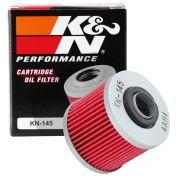 Filtro De Óleo K&n Alta Performance Drag Star 650/Mt-03/XT660/TDM850/900/Virago KN-145