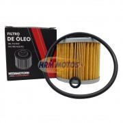 Filtro De Óleo Para Yamaha Drag Star 650 / MT-03/ XT 660R/ TDM 850 Com Anel Vedação