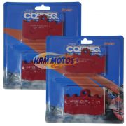 Jg Pastilha Freio BMW R1200 GS até 2012 / BMW R1200 Adventure até 2012 Dianteira Cobreq Racing