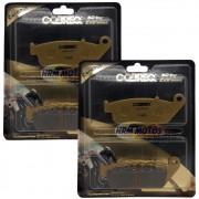 Jg Pastilha Freio Cerâmica Dianteira Tiger 800 até 17/Versys 650 15-18/Z750 Cobreq Racing Extreme N-930C