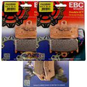 Jg Pastilha Freio Ebc Bmw 1200 Gs/Adventure até 2012 Diant e Traseira