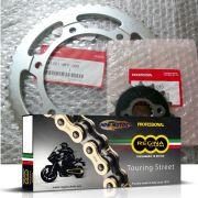 Kit Corrente Coroa Pinhão Honda CB 650F CBR 650F Honda/Regina Gold