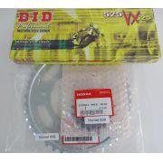 Kit Corrente Coroa Pinhão Honda CBR 600F 2011 à 2014 com DID