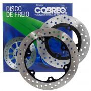 Kit Disco De Freio Dianteiro E Traseiro Nx 400 Falcon Cobreq