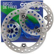 kit Disco De Freio Dianteiro e Traseiro XRE 300 Cobreq