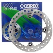 Kit Disco Freio Dianteiro E Traseiro Xre 300 ABS Cobreq+ Pastilhas Cobreq