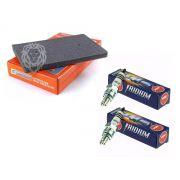 Kit Filtro Ar Ninja 250/300 Orkaan + 2 Velas Iridium Ngk