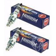 Kit Filtro De Ar E Óleo + 2 Velas Iridium Bmw G650 Gs