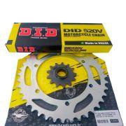 Kit Relação Dafra Next 250 Durag + Corrente DID com Retentor ( 35 x 13 )