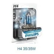 Lampada Farol Crystal Vision H4/HS1 35/35W Bros 150/160/Fazer/Lander 250/Citycom