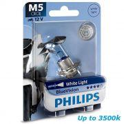 Lampada Farol Efeito Xenon 4000k Biz125/bros150/pop Philips