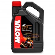 Óleo Motor 4t Motul 7100 10w40 Sintético Galão 4 litros