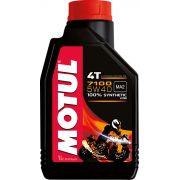 Óleo Motor Motul 4t 7100 5w40 100% Sintético 1lt