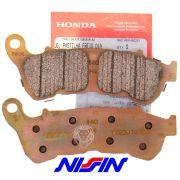Pastilha Freio Nissin para Honda CBR 250/CB 300R/XRE 300 com ABS