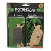 Pastilha Freio PTZ605XT SH 150/SH 300i Traseira Potenza
