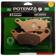 Pastilha Freio Traseira Mt-03 / R3 16-18 Potenza Semi-metálica
