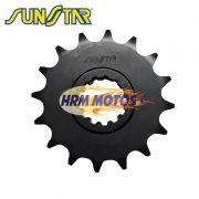 Pinhão Sunstar Aço 1045 16 Dentes TDM 900/MT-07/MT-09