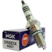 Vela Ngk DR8EIX Iridium (unidade) Fazer 250/Tenere 250/Lander 250/CB 400/450