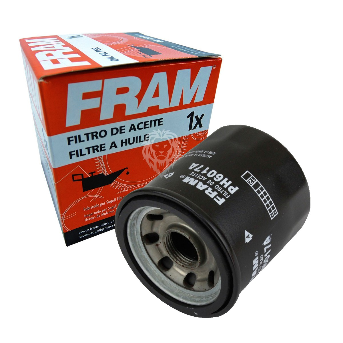 2 Filtros De Óleo Fram PH6017A Shadow 600 / CB 500X / Triumph / Kawasaki Fram