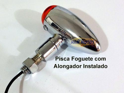 Alongador De Pisca Foguete Para Traseira (adaptador Pisca)