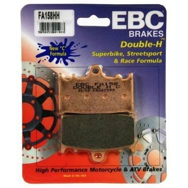 Pastilha Freio EBC Bandit 1250/1200/gsx650f/ZX/VERSYS 1000 FA158HH