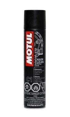 Chain Clean Motul - Spray 400ml - Desengordurante - Limpa Corrente