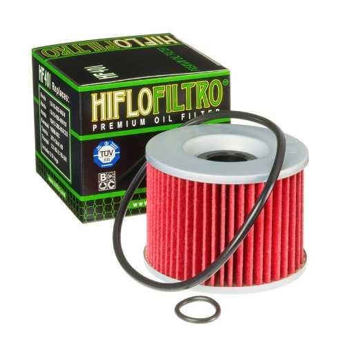 Filtro De Óleo Kawasaki Ninja 250 Hiflofiltro C/anel Vedação HF401