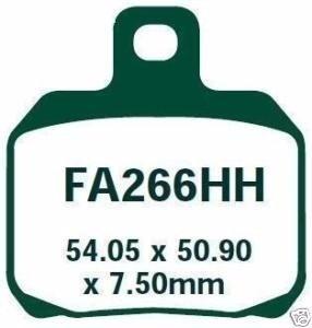 Pastilha Freio EBC Ducati 848/1098/1099/1200 Traseira FA266HH